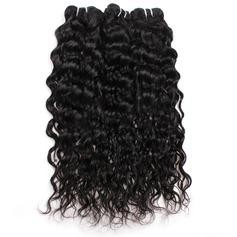 4A Non remy Vague d'eau les cheveux humains Tissage en cheveux humains (Vendu en une seule pièce) 100 g