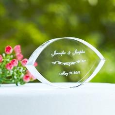 Individualisiert Elegant Kristall Torten-Dekoration