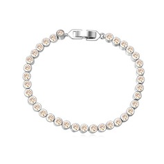 Charmen Zirkon/Platina Damer' Armband