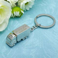 Personalized Truck Stainless Steel Keychains
