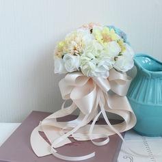 Attractive Cetim Buquês de noiva -