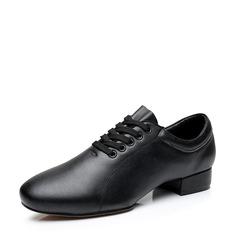Мужская Натуральня кожа Латино Обувь для танцев