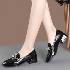 Women's PU Chunky Heel Pumps With Imitation Pearl shoes