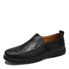 Men's Real Leather Casual Men's Loafers (260172146)