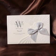 Estilo Florais e do bolso Invitation Cards com Arcos (Conjunto de 50)