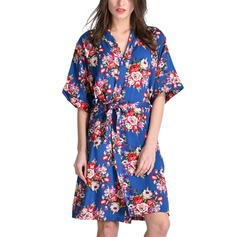 Cotton Bride Bridesmaid Mom Floral Robes (248197026)