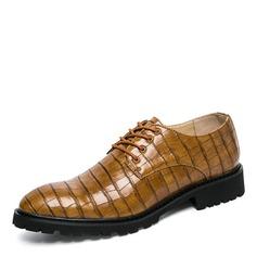 Hommes Similicuir Dentelle Décontractée Chaussures habillées Chaussures Oxford pour hommes