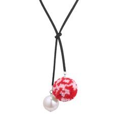 Efterspurgte Imiteret Pearl Klud Ladies ' Fashion Halskæde
