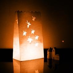 Bordo em forma cortada Papel Luminar (conjunto de 4)