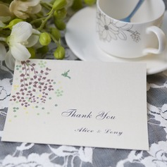 personalisé Style moderne Merci des cartes (Lot de 50)