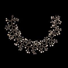 Elegant Legering/Imitert Perle Pannebånd (Selges i ett stykke)