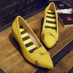 Frauen Niederiger Absatz Absatzschuhe Geschlossene Zehe Schuhe