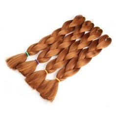 Tout droit cheveux synthétiques Tresses (Vendu en une seule pièce) 100 g