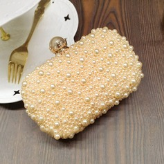 Charming Satin/Pearl Clutches