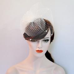 Dames Beau Fil net Chapeaux de type fascinator