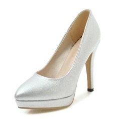 Frauen Kunstleder Kegel Absatz Absatzschuhe Plateauschuh Geschlossene Zehe Schuhe