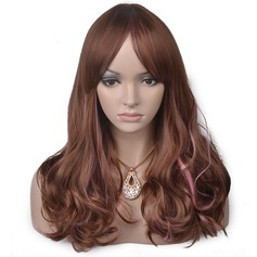 Loose Wavy Synthétique Perruques capless 270g