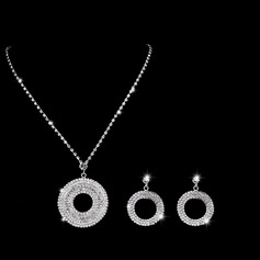 Unique Alloy/Copper With Rhinestone Ladies' Jewelry Sets