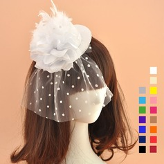 Damene ' Romantisk/vintage stil Netto Garn Fascinators