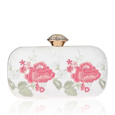 Attractive PU/Embroidery Clutches