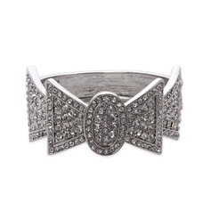 Alloy med Crystal Ladies' armband