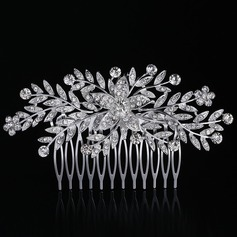Ladies Special Rhinestone/Alloy Combs & Barrettes