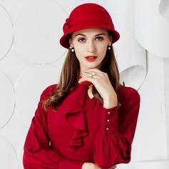 Dames Glamour Coton Disquettes Chapeau