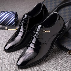 Menn Lær Blondér Derbies Avslappet Pen sko Oxfordsko til herre