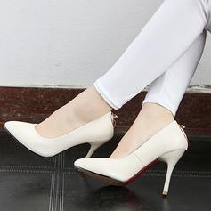 De mujer Cuero Tacón stilettos Salón con Lentejuelas zapatos