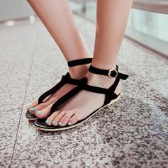 Kvinnor Mocka Flat Heel Platta Skor / Fritidsskor Slingbacks med Spänne skor