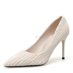 Femmes Suède Talon stiletto Escarpins chaussures
