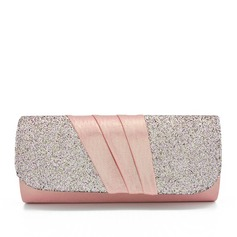 Elegant Silk/Sequin/Composites Clutches/Bridal Purse