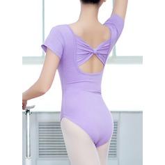 Kvinner Danseklær Bomull Ballett Øvelse Trikoter