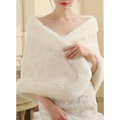 Pälsimitation Wedding Sjal