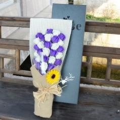 Beau Design de fleur Savons