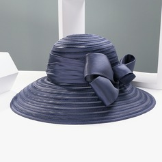 Ladies' Gorgeous Cambric With Bowknot Bowler/Cloche Hats