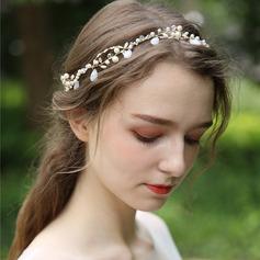 Ladies Beautiful Crystal/Imitation Pearls Headbands With Venetian Pearl