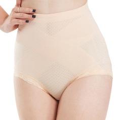 Damen Sexy Chinlon/Nylon Atmungsaktivität/Gesäß anheben Hohe Taille Slipformer Formwäsche