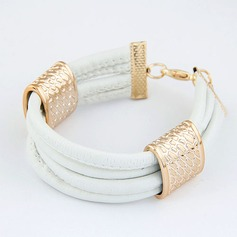 Mooi Legering Kunstleer Dames Fashion Armbanden