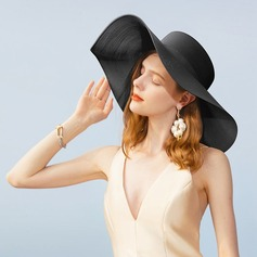 Dames Style Classique/Élégante/Simple/Style Vintage/Artistique Pp Chapeaux de plage / soleil