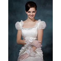 Вуаль Наручные длина Партии/мода перчатки/Свадебные перчатки