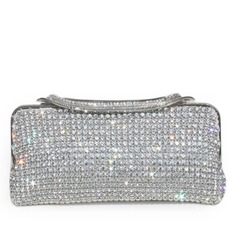 Rhinestone Style Metal Clutches/Luxury Clutches