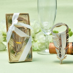 Feather design Zinc Alloy Bottle Openers