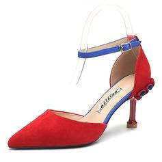 Vrouwen Suede Stiletto Heel Pumps schoenen