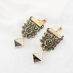 Vackra Och Legering Spets Damer' Mode örhängen