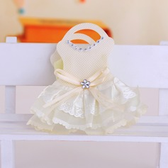 Design des robes pour bébé Sacs cadeaux avec Rubans (Lot de 12)