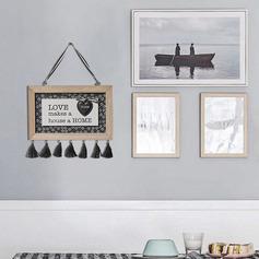 Casual madera Decoración del hogar (Sold in a single piece)