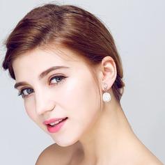 Elegant Pärla/Strass Damer' örhängen