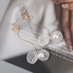 Lovely Alloy Imitation Pearls With Imitation Pearl Women's Fashion Earrings