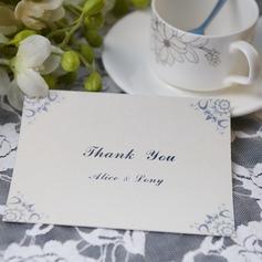 personalisé Style classique Merci des cartes (Lot de 50)